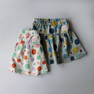 Jersey Stretch Dot Repeating Pattern Skirt
