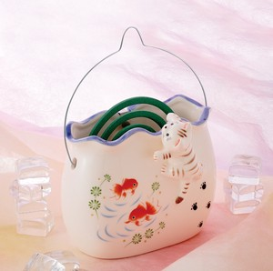 Japanese summer features Ornament Interior Mosquito Coil Stand Cat Fishbowl
