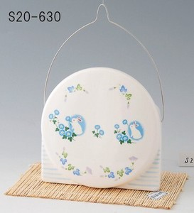 Japanese summer features Ornament Interior Mosquito Coil Stand Morning Glory Rabbit