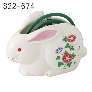 Japanese summer features Ornament Interior Rabbit Mosquito Coil Stand