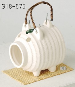 Japanese summer features Ornament Interior pig Mosquito Coil Stand