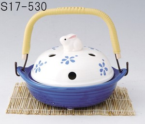 Japanese summer features Ornament Interior Earthen Pot Mosquito Coil Stand