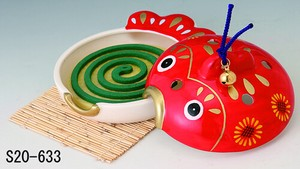 Japanese summer features Ornament Interior Goldfish Play Mosquito Coil Stand