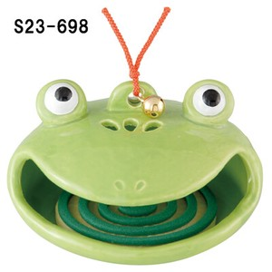 Japanese summer features Ornament Interior Frog Mosquito Coil Stand