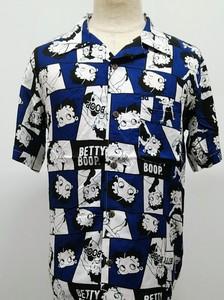 【2020春夏新作】SPBT-12122:BettyBoop(ベティブープ)アロハシャツ