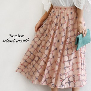 [ 2020NewItem ] Dot Lace Skirt