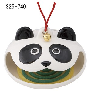 Japanese summer features Ornament Interior Panda Bear Mosquito Coil Stand