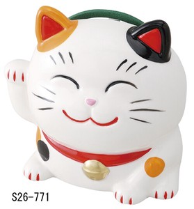 Japanese summer features Ornament Interior Beckoning cat Mosquito Coil Stand