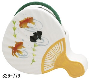 Japanese summer features Ornament Interior Japanese Fan Mosquito Coil Stand Goldfish