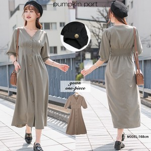 [ 2020NewItem ] Waist Tuck Robe One-piece Dress