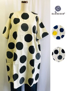 Dot Print One-piece Dress