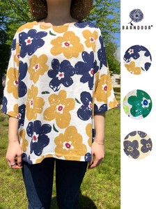 Pansy Print Dolman Cut And Sewn