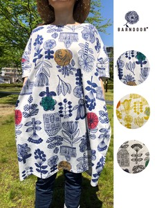 Scandinavia Flower Print Tunic