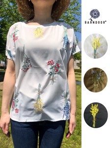 Dry Flower Embroidery Blouse
