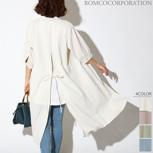 Rayon Bag 6/10Length Shirt One-piece Dress