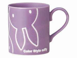 Water-Repellent Mug Purple Character