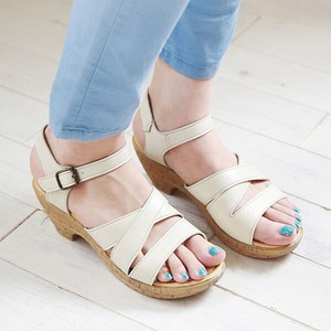 Sandal Cork Heel Sandal and