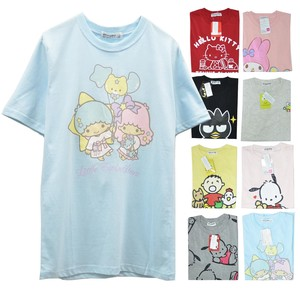 Settlement Sanrio Character Mix Design T-shirt