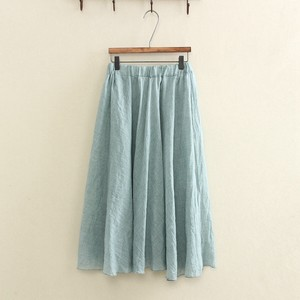 High-waisted Pleats Skirt 5 Colors