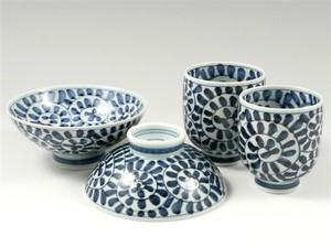 Arabesque Japanese Rice Bowl Japanese Tea Cup