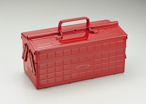 カラー2段式工具箱  ST-350R レッド
