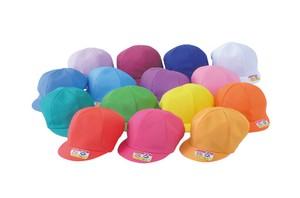 N#41 ニットカラー園児帽(裏黄)