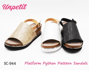 Set Python Sandal One Sheet Type SC