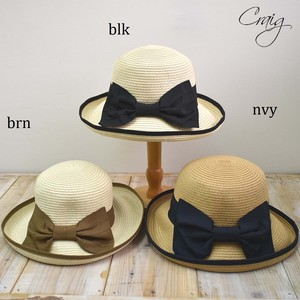 Big Ribbon pin Capelin Hat Control Broad-brimmed Hat Straw Hat Uv Prevention