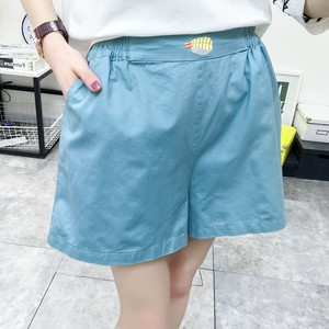 High-waisted Slim Effect Shor Pants