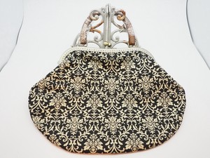 Feeling Coin Purse Bag Base Large Antique Mask