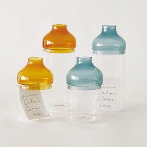 GLASS colored Bottle