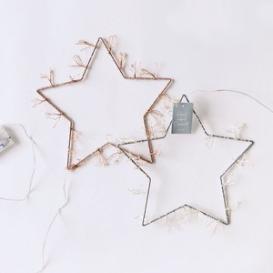 LED Light Hanging Wire Star