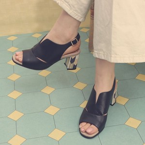 [ 2020NewItem ] 3 Colors Genuine Leather Blackstrap Bird Sandal