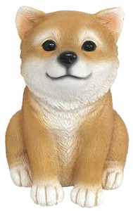 Resin Animal Piggy Bank Shiba Dog