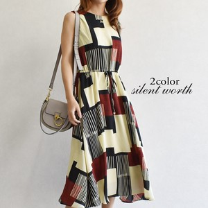[ 2020NewItem ] Geometric Design One-piece Dress