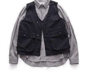 S/S Retro Pocket Vest