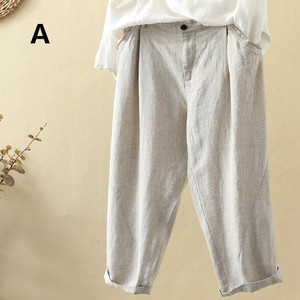 Ladies Leisurely Plain 9/10Length Pants Pants