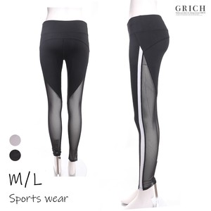 Sport Mesh Switching Line Pants Sport Dance