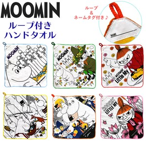 The Moomins Loop Towel 6 Types 2 Pcs