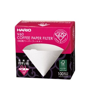 V60 Paper Filter 01 W 100 sheets (Box)