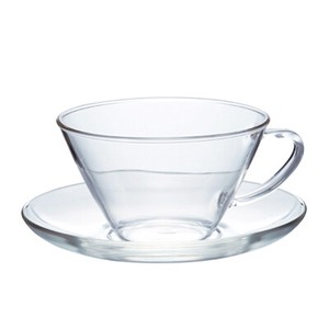 Heatproof Cup & Saucer Wide