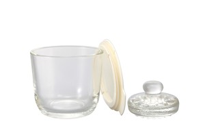 Glass Overnight Salting Bowl S / Off White
