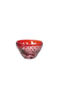 Flower Kiriko China Hand Maid Glass