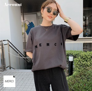 MERCI BIG TEE 半袖Tシャツ