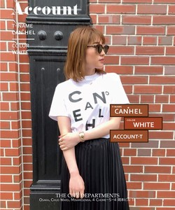CANEHL TEE 半袖Tシャツ