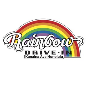Rainbow Drive Sticker Original