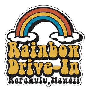 Rainbow Drive Sticker Cloud
