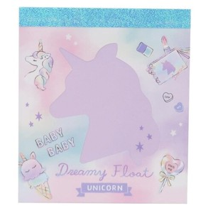 Memo Pad Window Memo Pad Unicorn