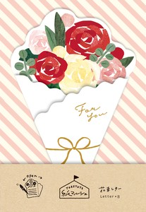 Bouquet Letter Papers rose