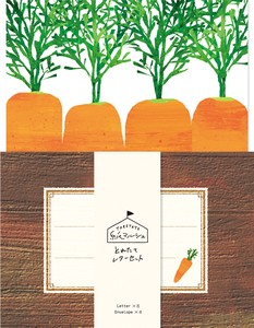 Marche Writing Papers & Envelope Carrot